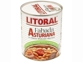 LITORAL Fabada Asturiana, 865 grs
