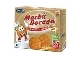 MARBU Galleta dorada, 800 grs + 200 grs GRATIS