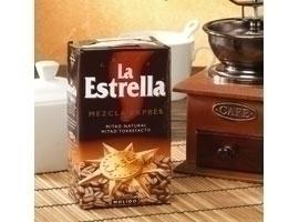 LA ESTRELLA Café molido mezcla, 250 grs