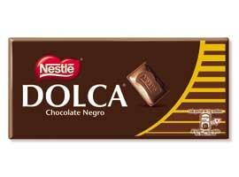 CHOCO.DOLCA NEGRO 125 GRS.