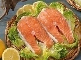 Salmón fresco superior, al corte, kilo