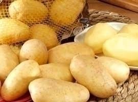 Patata nueva lavada, bolsa de 2,5 kilos