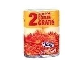FOXY Papel higiénico color, 4+2 rollos
