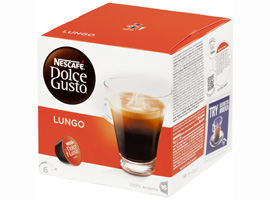 DOLCE GUSTO CAFFE LUNGO 16C 112g