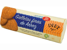 S/GLUTEN GALLETA FINAS ARROZ 210