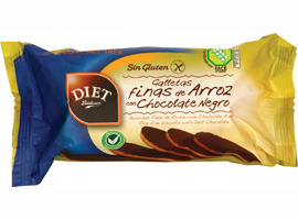 S/GLUTEN GALLETA ARROZ CHOCO 140