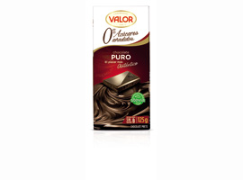 CHOCOLATE VALOR PURO S/A 125