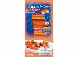 PALITOS SALMON PESCANOVA 200g