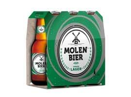 Cerveza en botella 6x25 MOLEN BIER