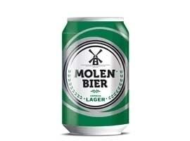 Cerveza rubia de lata, 33 cl MOLEN BIER