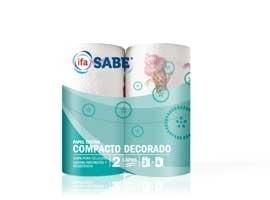 Papel cocina decorado(2) compacto SABE