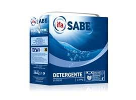 Detergente polvo, 33 lavados SABE