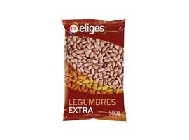 Alubia pinta extra, 500 grs ELIGES