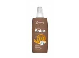 Aceite solar coco FP10, Spray 250 ml UNNIA