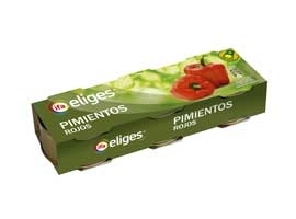 Pimiento morron, Pack 3x80 grs  ELIGES
