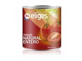 Tomate natural, 390 grs ELIGES