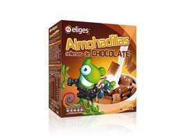Cereales rellenos de chocolate, 375 grs ELIGES