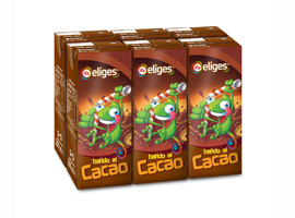Batido cacao 6x200ml ELIGES
