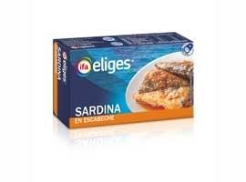 Sardina en escabeche, 120 grs ELIGES