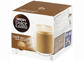 DOLCE GUSTO CAFE C/LECHE 16C 160