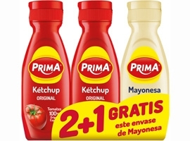 *KETCHUP 2X325g+MAYO.300ml PRIMA