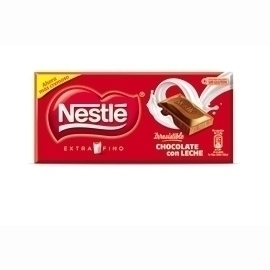 NESTLE Chocolate extrafino con leche, 125 grs