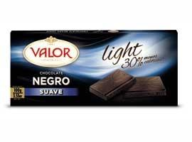 CHOC.LIGHT NEGRO SUAVE 100 VALOR